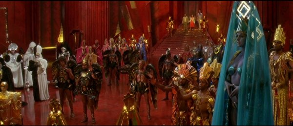 Mingu0027s court is filled with opulent decadent costume designs. & Thiel-a-Vision » 30 Days Of Flash Gordon #29