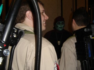 A couple of Ghostbusters discuss what to do about Indianapolis' famed horror host Sammy Terry.