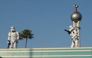 "I would have made a ""these aren't the droids you're looking for"" joke, but the Stormtroopers beat me to it."