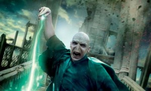 """It all began with Voldemort was a child. Someone said, """"Got your nose!"""" and never gave it back."""
